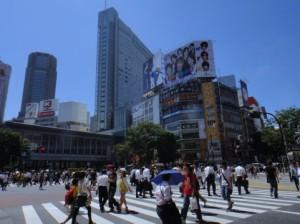 大都会東京の街